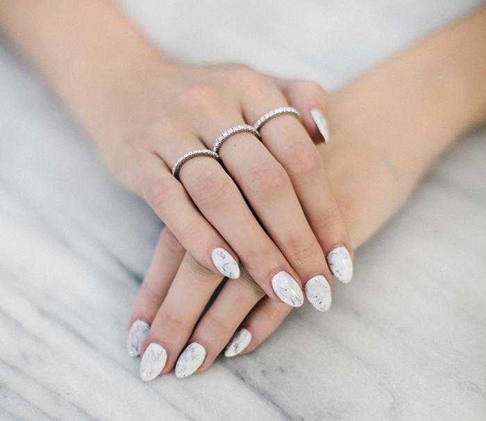 whitemarblenails