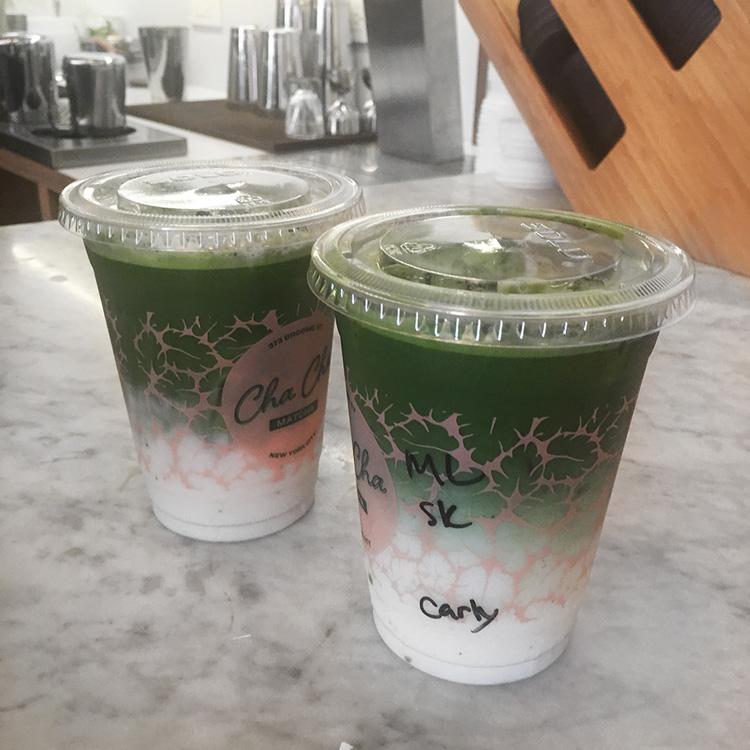 best matcha latte in NYC - Cha Cha Matcha