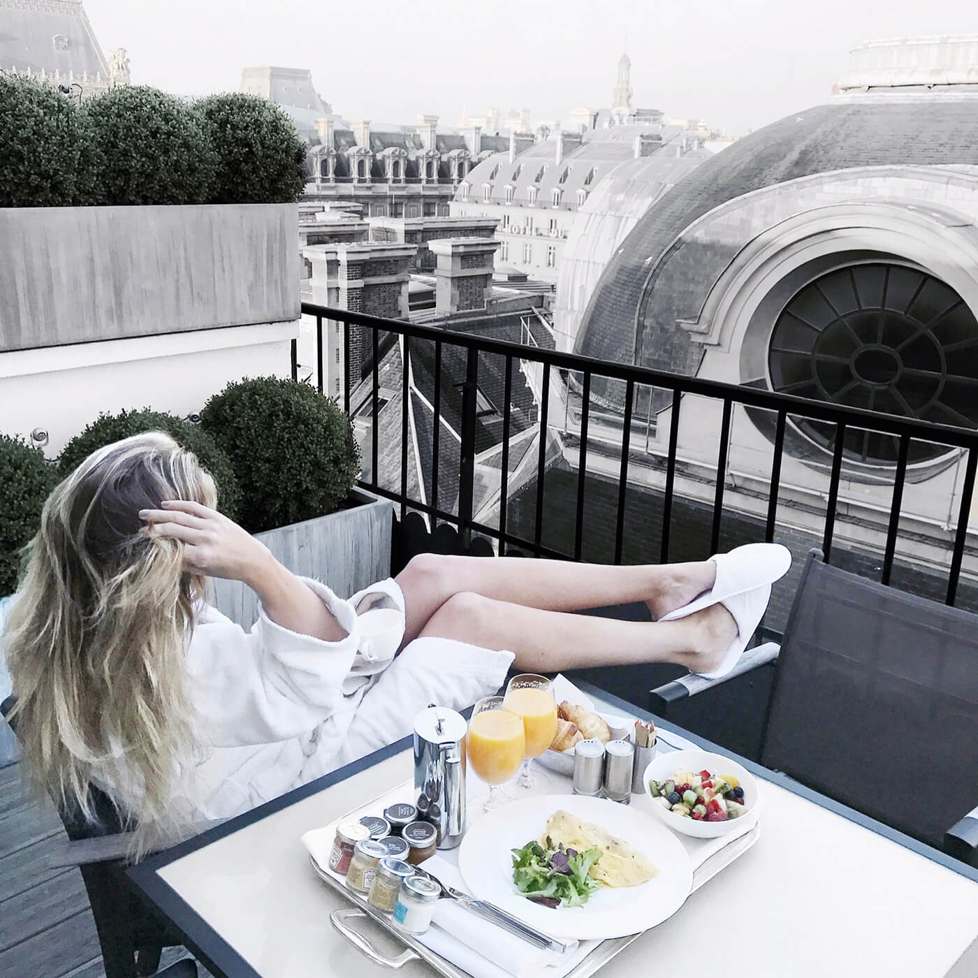 Best Hotel in Paris: Grand Hotel du Palais Royal - Where To Stay in Paris - Best Instagram Hotel Paris - Carly Cristman