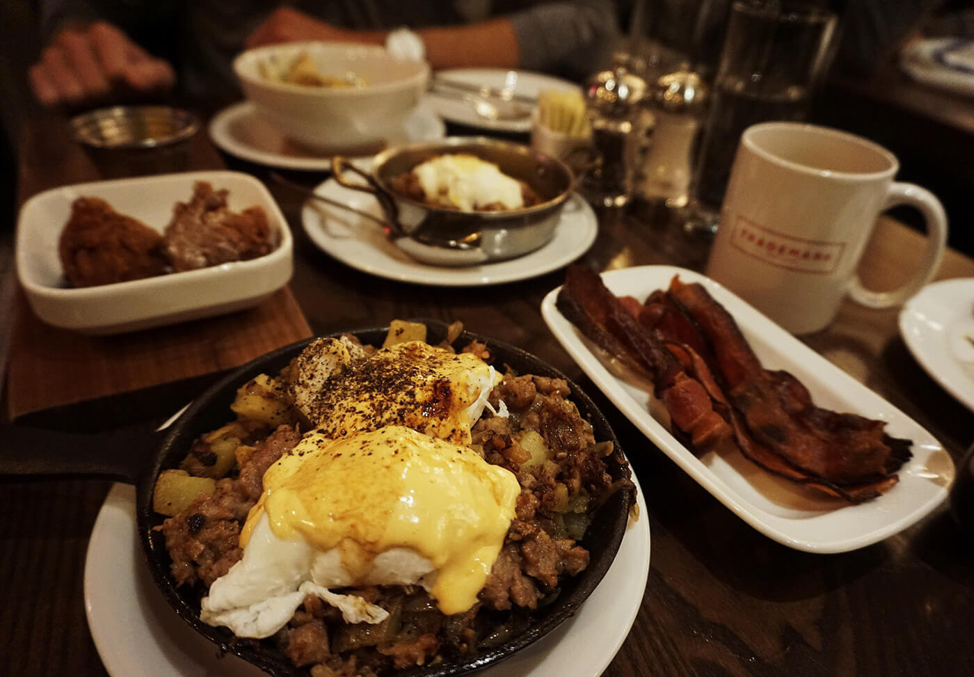 Brunch in Midtown NYC: Trademark - Food Recommendations - Carly Cristman